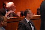 prawnik na sali sądowej
