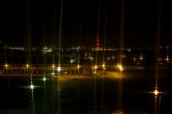 Białystok nocą