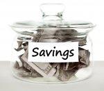 Słój z oszczędnościami